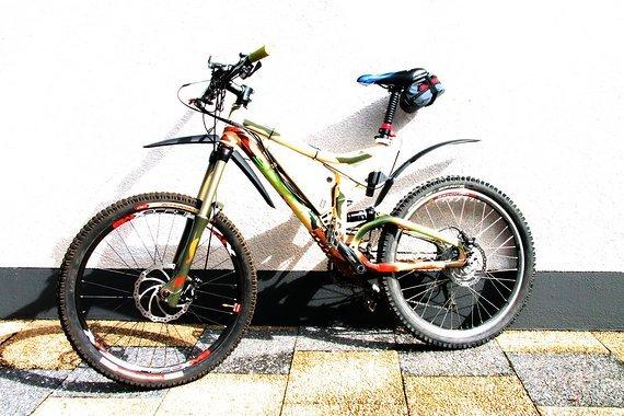 Scott Nitrous --- e-Bike Umbau HR