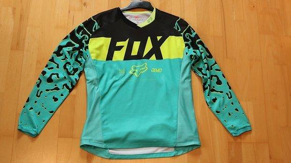 Fox Girls Jersey DEMO DH RACE (Miami Green) - L
