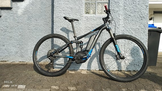 "Cube STEREO HYBRID 120 HPA Race 500 - Super Zustand  - 997 km - 17"" Rahmen - 29"" Laufräder"