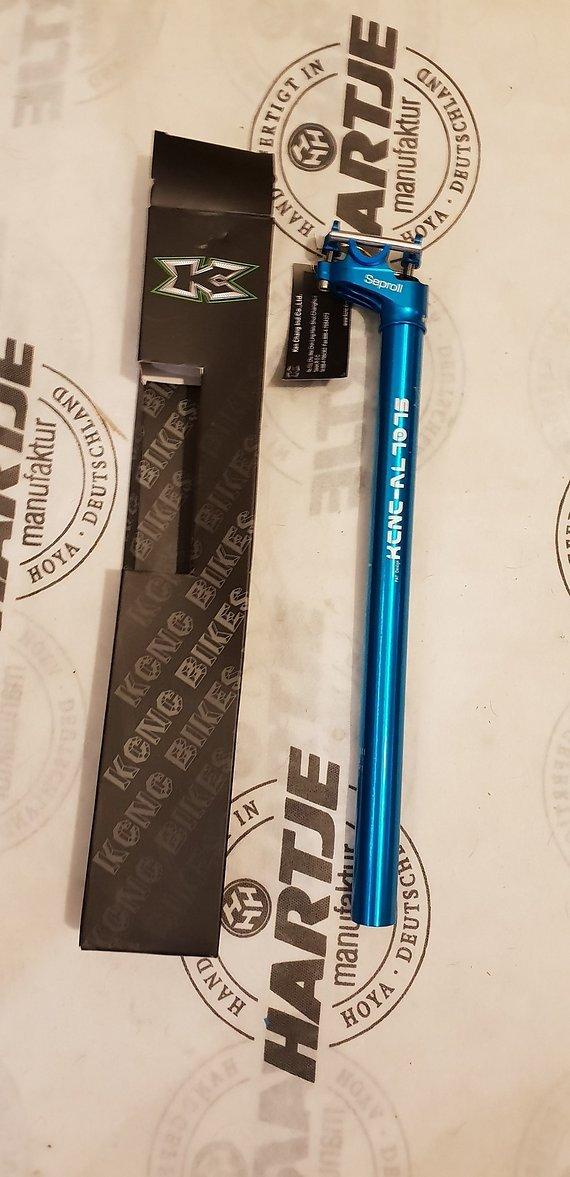 Kcnc Sepro Lite 2 Sattelstütze 27,2x400 Blau AL-7075