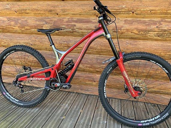 Spank Spike VIBROCORE 350 REMI THIRION Enduro DH Laufradsatz, 29