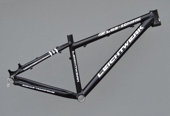 """Leichtwerk LCS-Twenty Nine 29"""" Mountainbike Rahmen 40 cm in schwarz Nr534"""