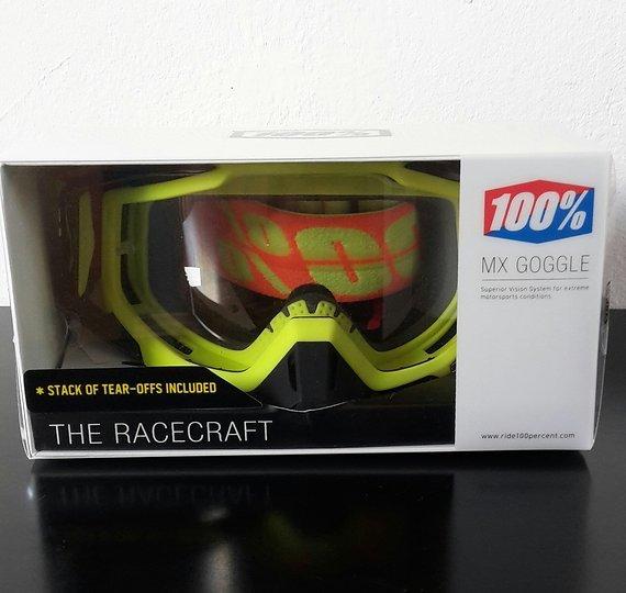 100% The Racecraft Neon Sign