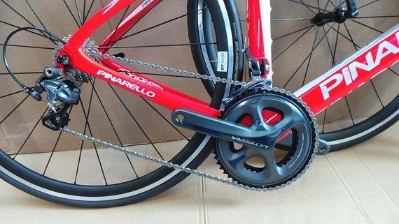 Pinarello F8, new bike