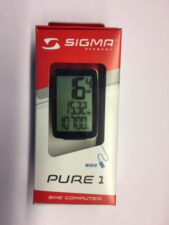 Sigma Sport Fahrradcomputer Sigma Pure 1 (kabelgebunden)