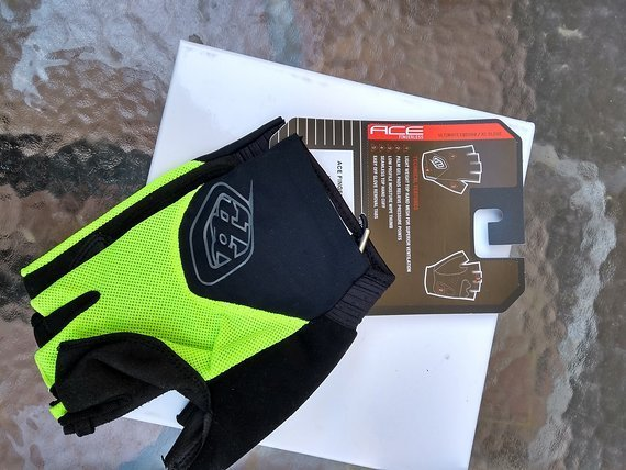 Troy Lee Designs ACE Fingerless Gloves Gr.XL