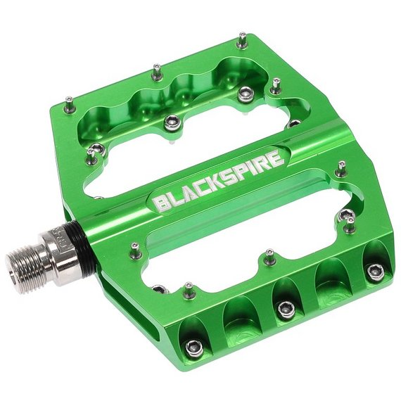 Blackspire SUB 420 Plattformpedale / Pedale green *NEU*