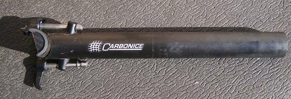 Carbonice Flotte Lotte Carbon Sattelstütze 27,2mm x 250mm