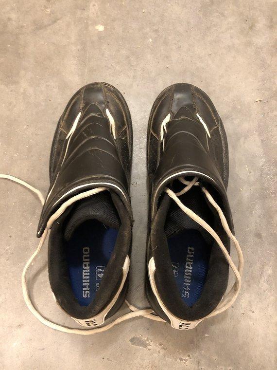 Shimano SH-AM45 SPD in EU47 - braucht keiner gute Schuhe?