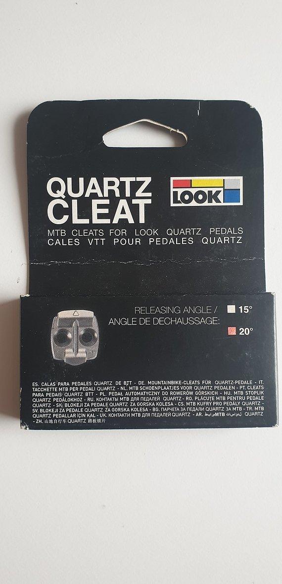 Look Quartz MTB cleats 20° NEU OVP