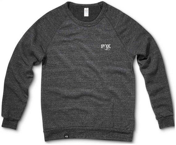 Fox Crewneck ECO Black Sweater / Pullover Gr. L *NEU*