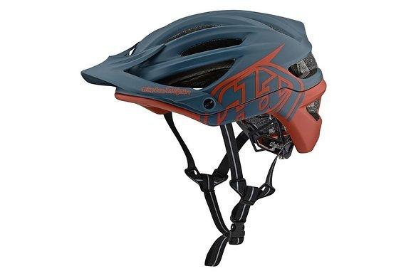 Troy Lee Designs A2 Fahrrad (MTB/Enduro) Helm blue/clay