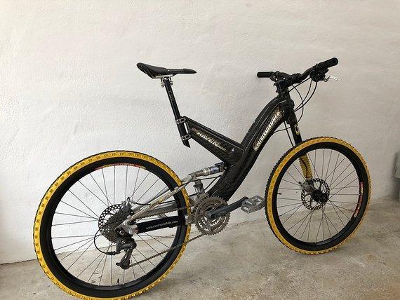 Cannondale Raven 4000 SX Lefty / XTR Retro MTB Bike Carbon