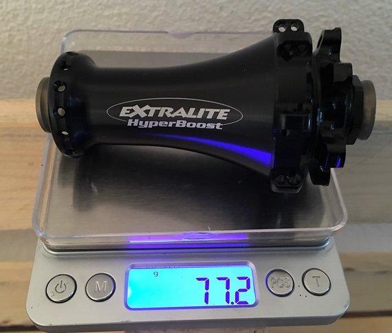 Extralite Hyperboost Front Nabe 32 Loch 77 Gramm