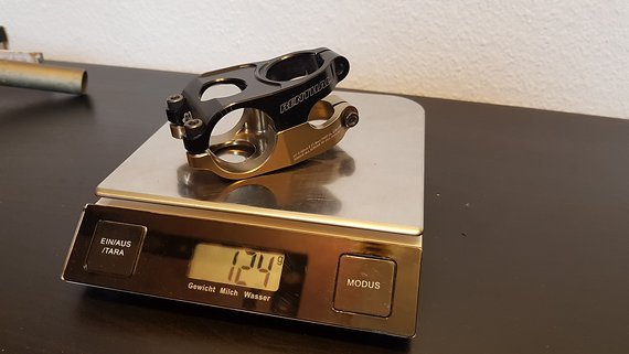 Renthal STEM-109 Duo Vorbau, 31.8, 40mm, 10°, gold/black