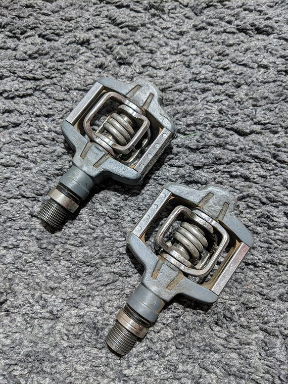 Crankbrothers Candy C Klickpedale, grau