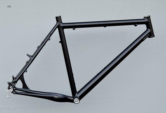 "Müsing Offroad Mountainbike Rahmen 56 cm in schwarz matt 26"""