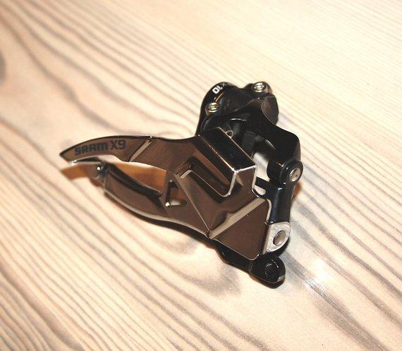 SRAM X9 Umwerfer 2x10 Bottom Pull S3 / 39t