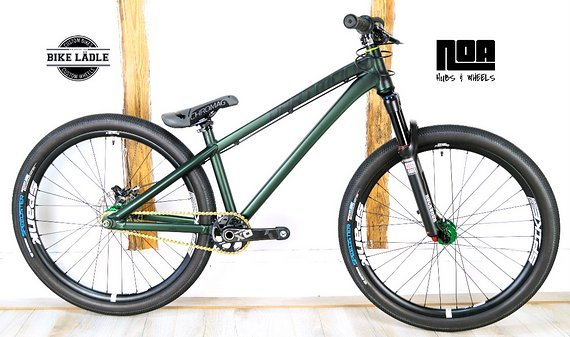Dartmoor Two6Player Modell 2018 Custom Dirt / Street Pumptrack-Bike Rock Shox Pike DJ, Spank Spike 33 ,Sram X01,Chromag,VEE,Noa / Bike-Lädle