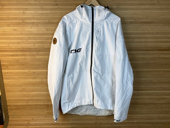 TSG DROP RAIN Jacket Gr. L white *NEU*