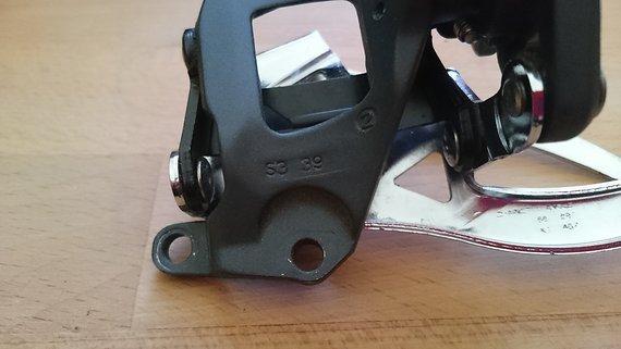 SRAM X.7 Umwerfer 2fach Direct Mount S3 39