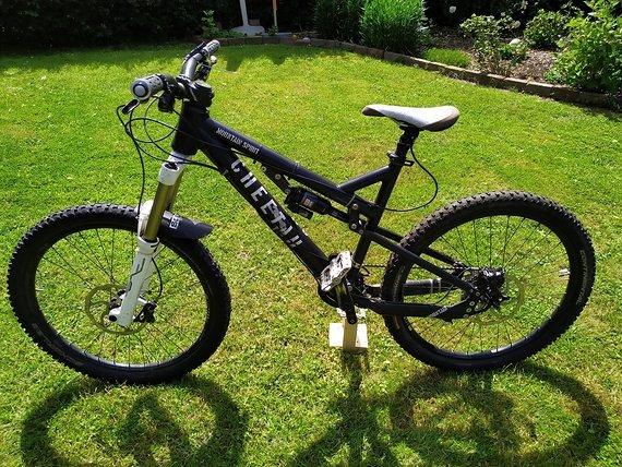 Cheetah Bikes Mountain Spirit 2012 M