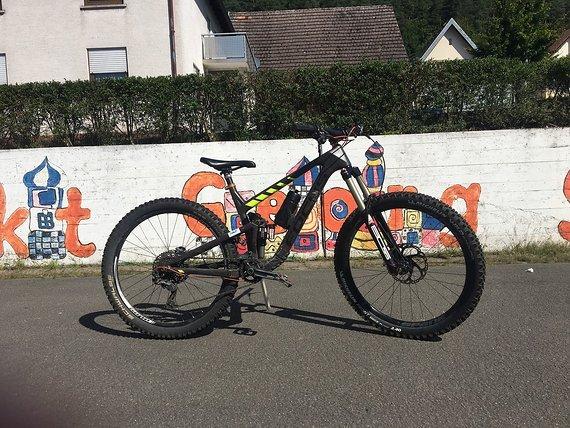 Focus Jam C 27 ,5 650b Enduro Trailbike Carbon Downhill Bike MTB