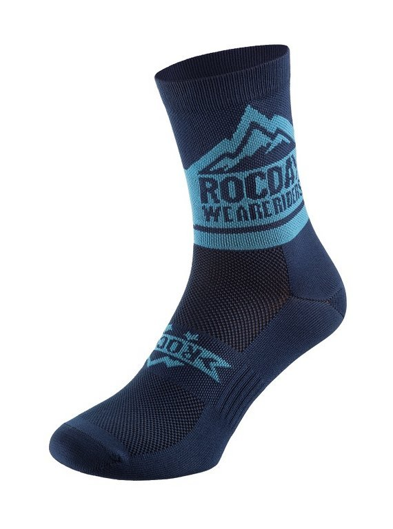 Rocday TRAIL Socks Blue, Gr. S/M