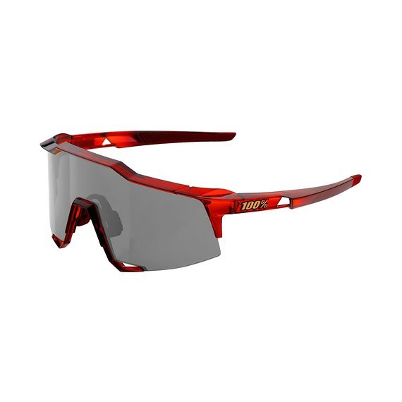 100% Speedcraft (Mtb) Sportbrille Cherry Palace - Black Mirror Lens