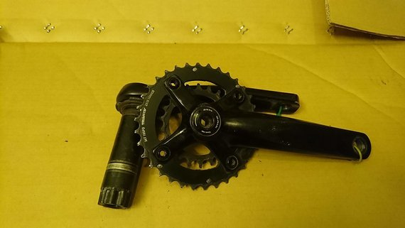 SRAM S-1250 10-speed PF30 spindle, 34/22
