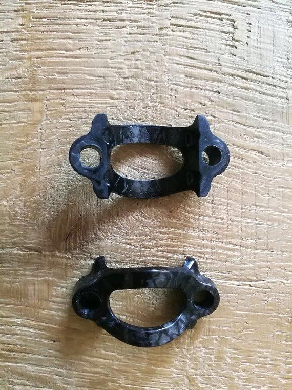 Magura Carbon Klemmschellen MT Hebel Neu 2 Stück