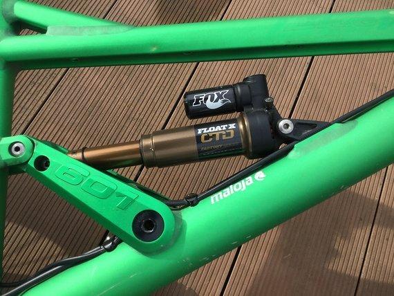Liteville 601 Mk2 Gr. L selten grün elox.