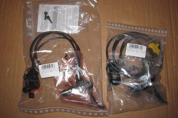 Shimano neu/OVP Shimano Deore Disc Bremsen-Set BR-M615