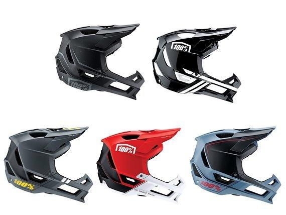 100% Trajecta Helm