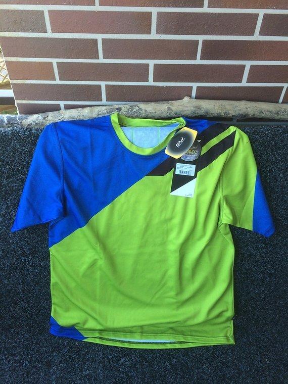 Local Outerwear Stevens MTB Shirt blau-grün-schwarz Gr. L (neuer Preis!!!)