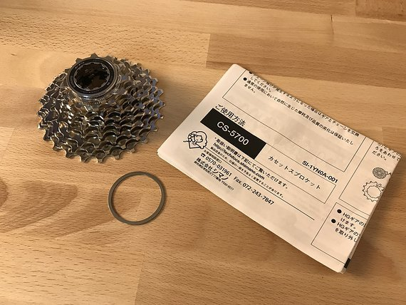 Shimano 105 CS-5700 10-fach Kassette 11-25T *NEU*