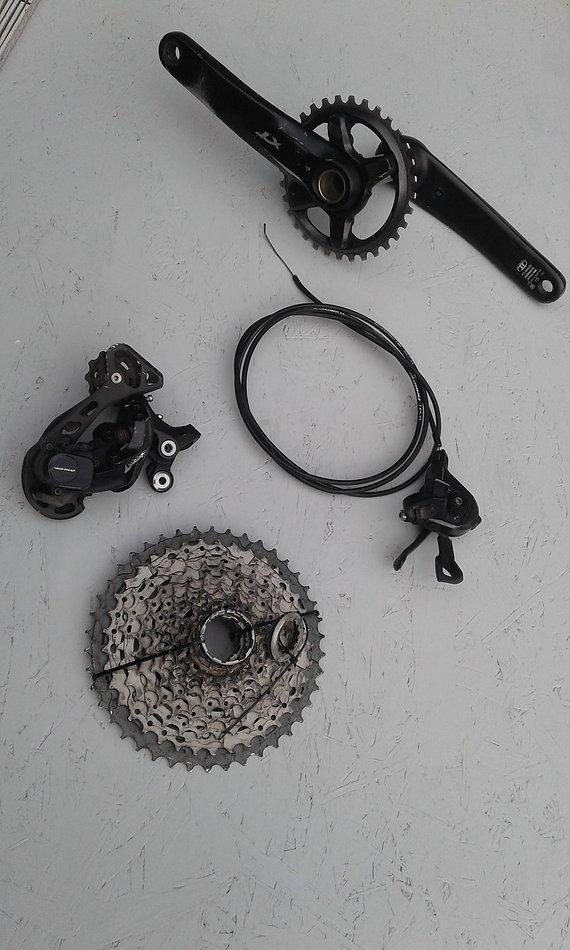 Shimano XT Antrieb 11-fach 1x11 Shimano XT M8000