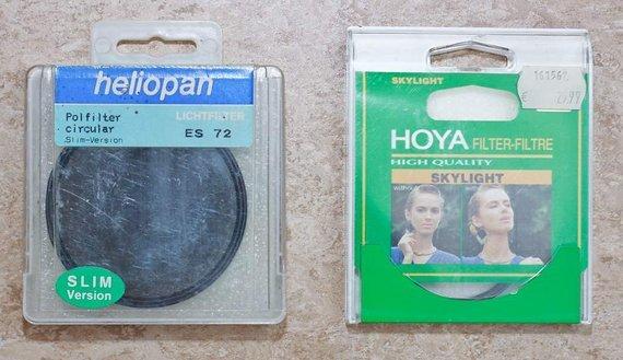Heliopan Polarisationsfilter und UV Filter