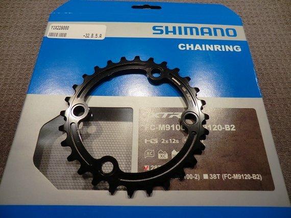Shimano Kettenblatt 28 Zähne für Kurbel XTR 9100-2 und 9120-2, negelneu!