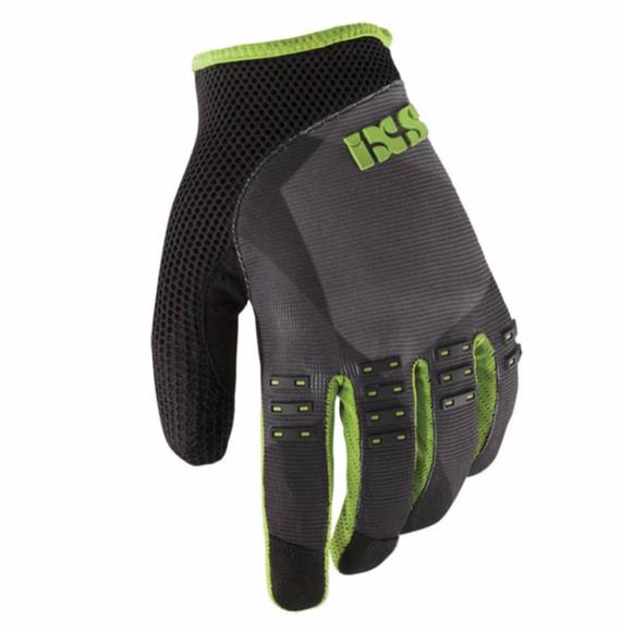 IXS BC-X3.1 Handschuh - Schwarz/Grün Enduro und Freeride/Mountain