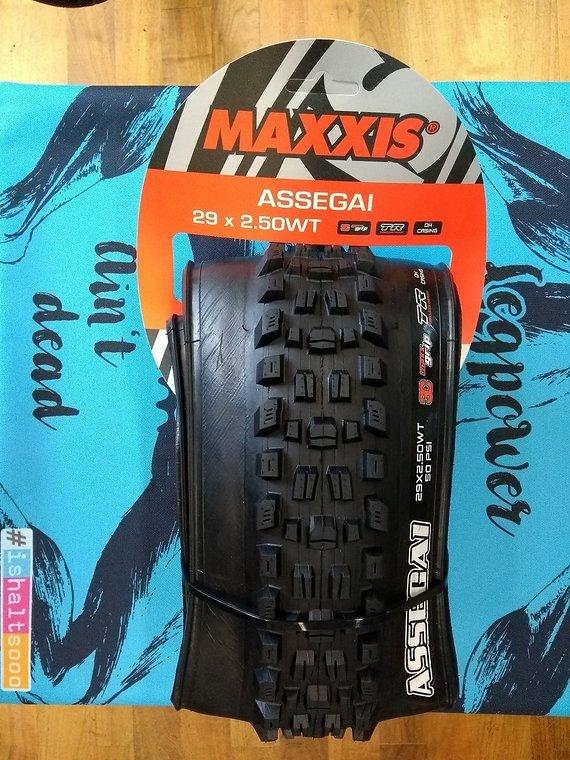 Maxxis Assegai WT 3C Maxx Grip TR DH Casing 27,5 oder 29 Sofort Lieferbar!!!
