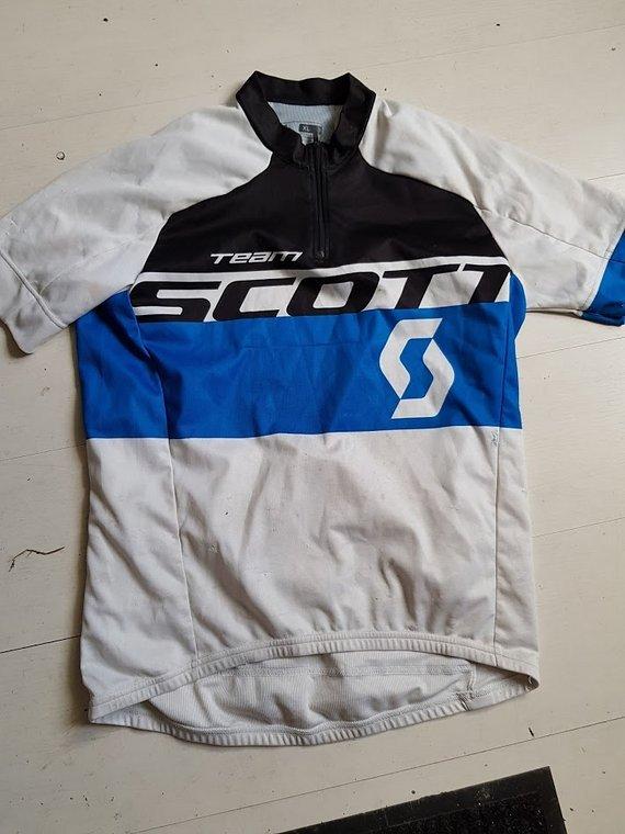Scott RC Team Trikot kurzarm XL