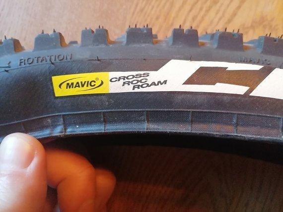 Mavic Cross Roc Roam 27,5x2.2 Set Tubeless