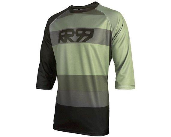 Royal Racing Dirft Jersey 3/4 Stone Grey / Black Gr. S *NEU*