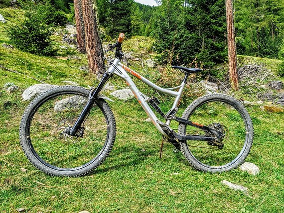 Alutech Tofane 2 Enduro All Mountain MTB Super Zustand