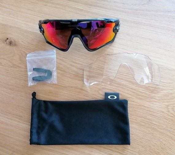 Oakley Jawbraker Polarized Brille