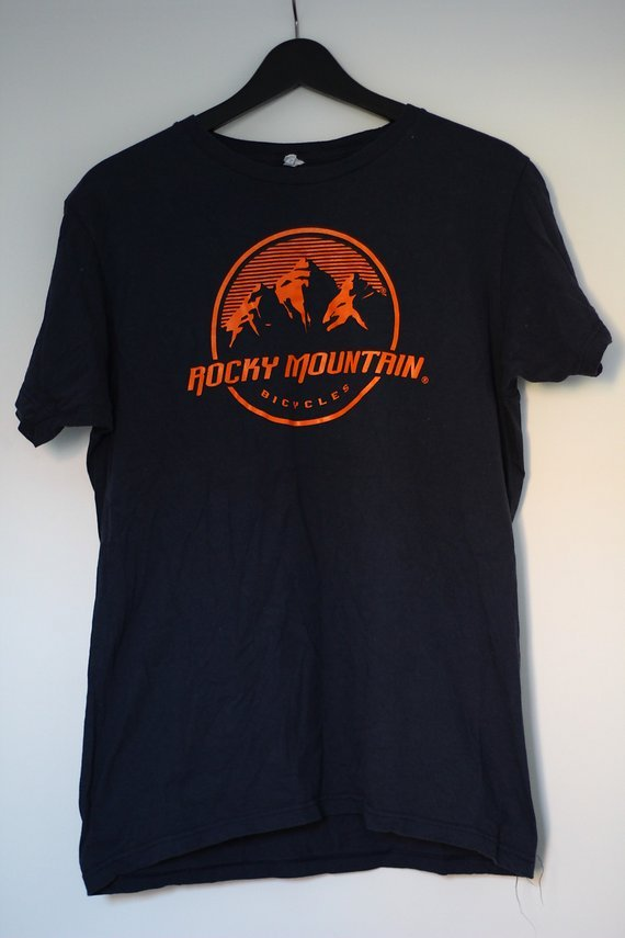 Rocky Mountain T-Shirt blau/orange