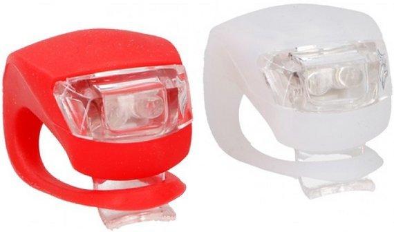 Beleuchtung Batterie-LED rot / weiß
