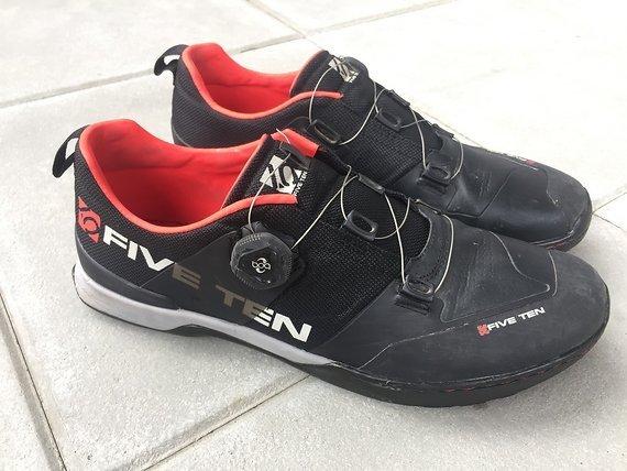 Five Ten Kestrel (Team Black ) Clipless MTB-Schuhe 44,5