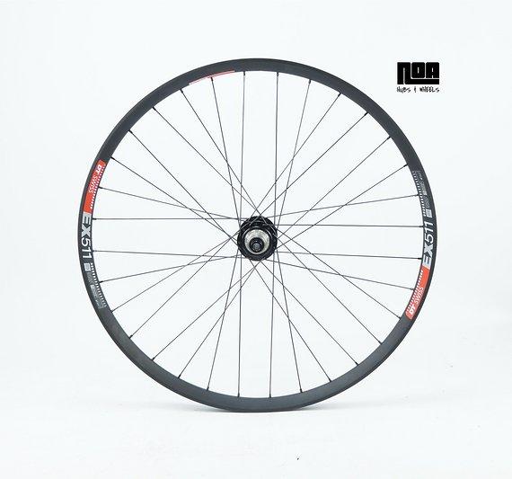 """DT Swiss EX 511 Hinterrad 27,5"""" / 29"""" mit Noa Evo DH Nabe / Bike-Lädle Laufradbau / Noahubs"""